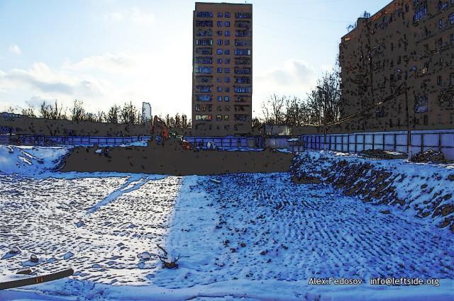 Строительство ЖК «Альтаир» на ул