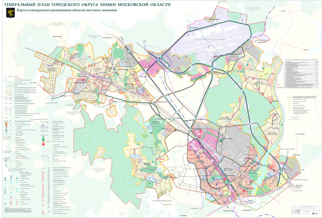 карта объектов местного значения 01-03-13
