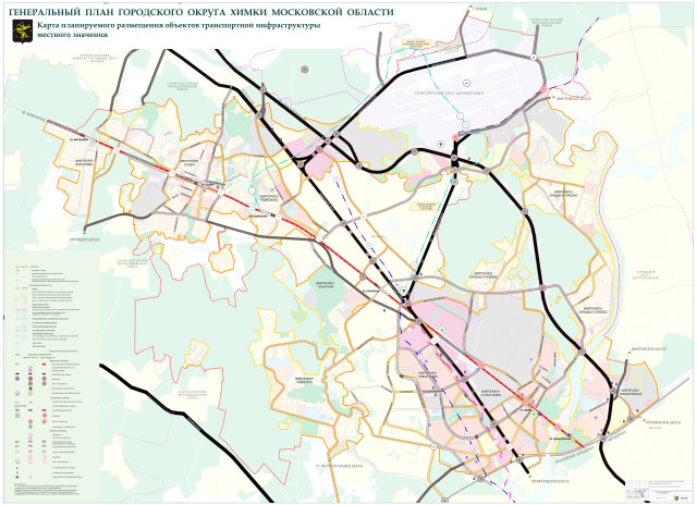 карта транспортной инфраструктуры 01-03-13