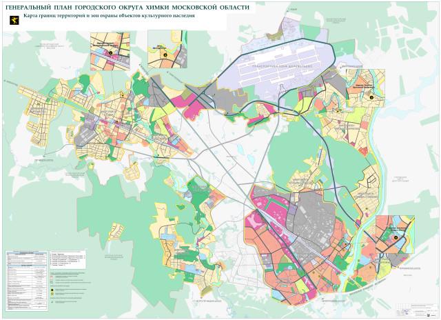 карта зон охраны ОКН 01-03-13